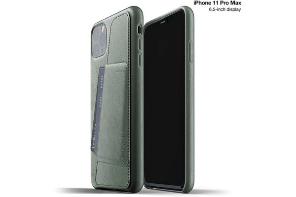 Full Leather Case for iPhone 11 Pro Max - Slave Green