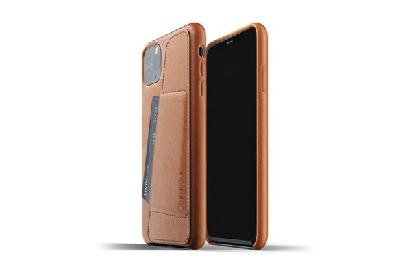 Full Leather Case for iPhone 11 Pro Max - Tan -2