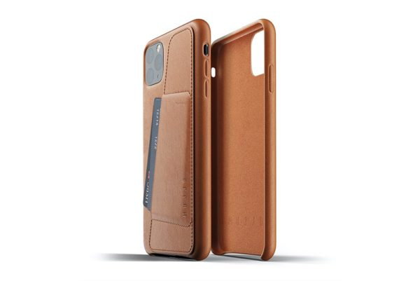 Full Leather Case for iPhone 11 Pro Max - Tan