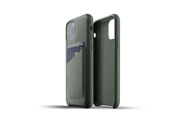 Full Leather Case for iPhone 11 Pro - Slate green -2