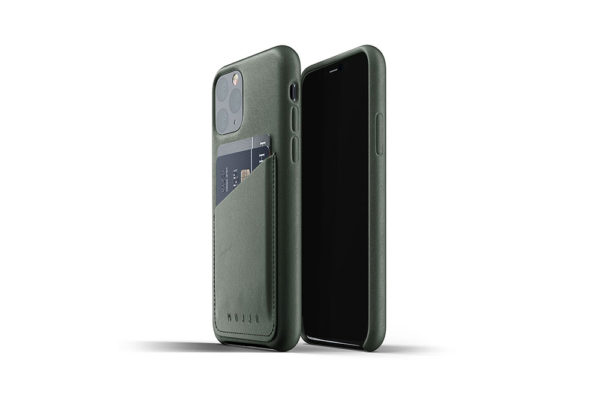Full Leather Case for iPhone 11 Pro - Slate green