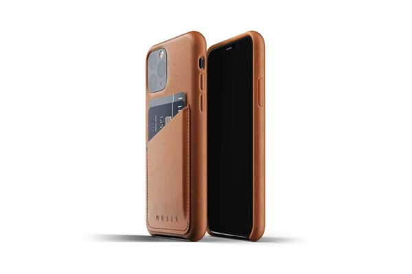 Full Leather Case for iPhone 11 Pro - Tan -2