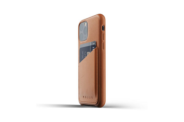 Full Leather Case for iPhone 11 Pro - Tan -3