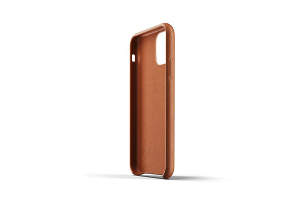 Full Leather Case for iPhone 11 Pro - Tan -5