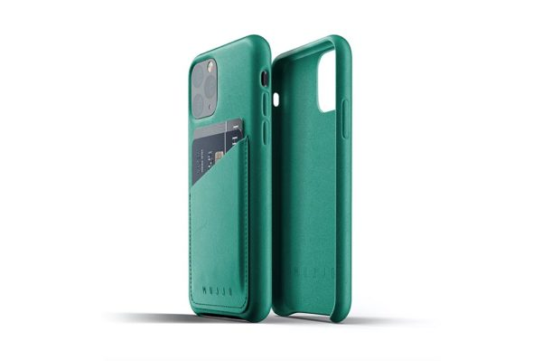 Full Leather Case for iPhone 11 Pro - alpine green