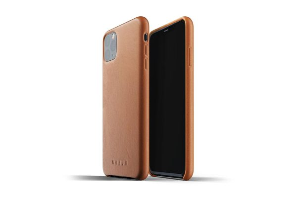 Full leather case for iPhone 11 Pro Max - Tan-01