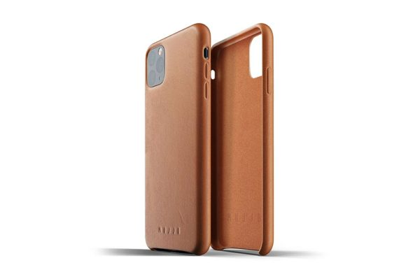 Full leather case for iPhone 11 Pro Max - Tan-02