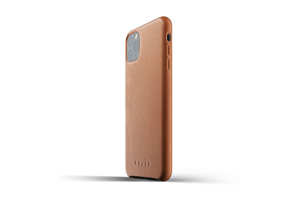 Full leather case for iPhone 11 Pro Max - Tan-03