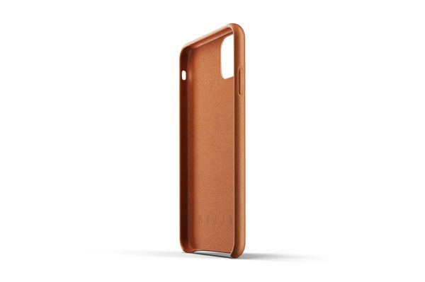 Full leather case for iPhone 11 Pro Max - Tan-05