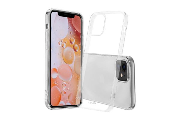 Nevox-StyleShell-Flex-iPhone-12-Mini-Backcover-transparent
