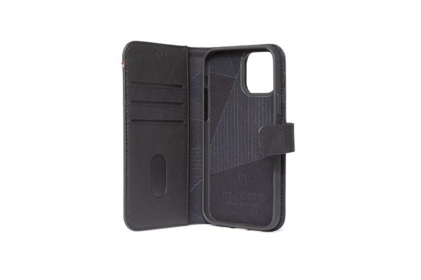 Decoded-Leather-Detachable-Wallet-Case-Echtleder-iPhone-12-mini-Kreditkarten-schwarz-3