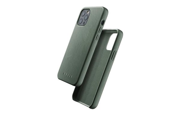Full Leather Case for iPhone 12 & 12 Pro - Slate Green - 01