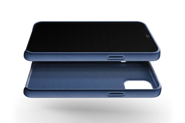 Full Leather Case for iPhone 12 Pro Max - Monaco Blue - 02