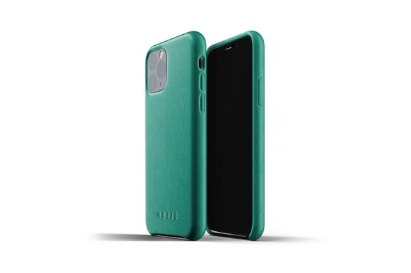Full leather case for iPhone 11 Pro - Alpine-Green - 01