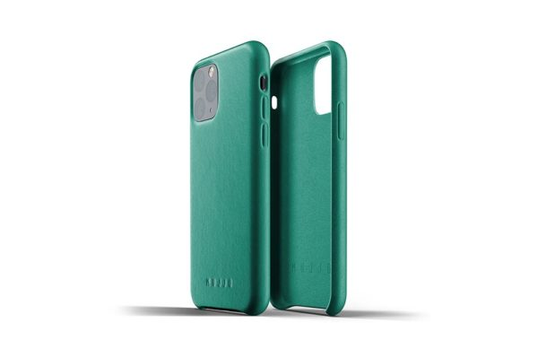 Full leather case for iPhone 11 Pro - Alpine-Green - 02