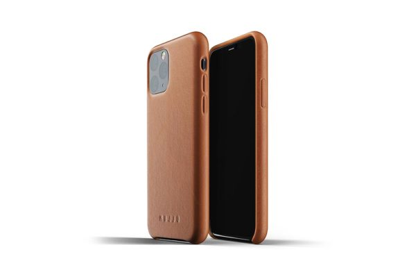 Full leather case for iPhone 11 Pro - Tan - 01
