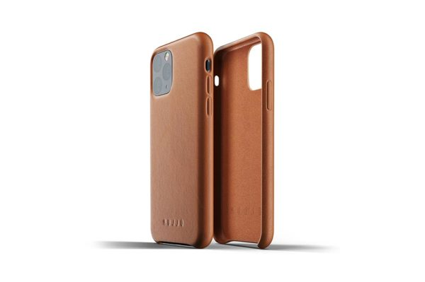 Full leather case for iPhone 11 Pro - Tan - 02