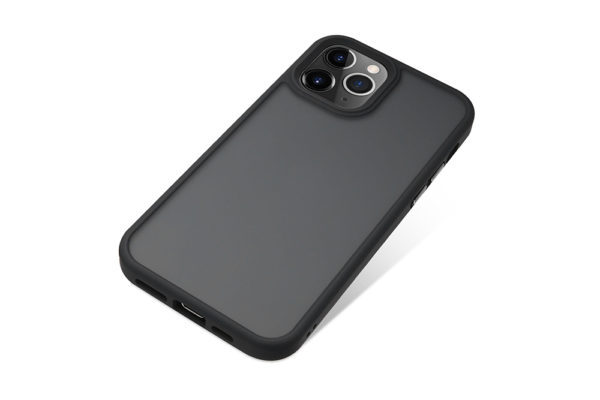 Nevox StyleShell Invisio-iPhone-12-Pro-Max-Backcover-schwarz-transparent-1