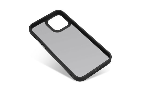 Nevox StyleShell Invisio-iPhone-12-mini-Backcover-schwarz-transparent-3