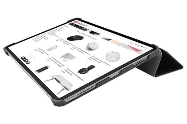 Macally-Bookstand-Case-iPad-Air-10.9-grau