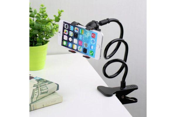 Tisch-Klemm-Ständer-Halter-Halterung-iPhone-Tablet-Flexibler-Arm-1