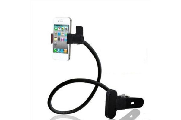 Tisch-Klemm-Ständer-Halter-Halterung-iPhone-Tablet-Flexibler-Arm-2