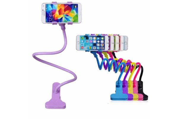 Tisch-Klemm-Ständer-Halter-Halterung-iPhone-Tablet-Flexibler-Arm-7