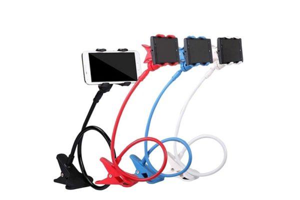 Tisch-Klemm-Ständer-Halter-Halterung-iPhone-Tablet-Flexibler-Arm-8