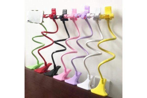 Tisch-Klemm-Ständer-Halter-Halterung-iPhone-Tablet-Flexibler-Arm-9