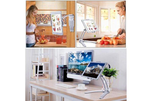 Wand-Tisch-Staender-Halterung-Tablet-Smartphone-7