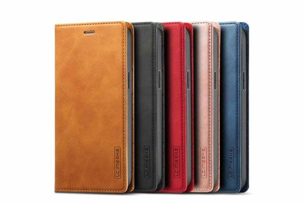 iPhone-schlankes-Leder-Etui-Case-Kreditkartenslot-Magnetverschluss-1