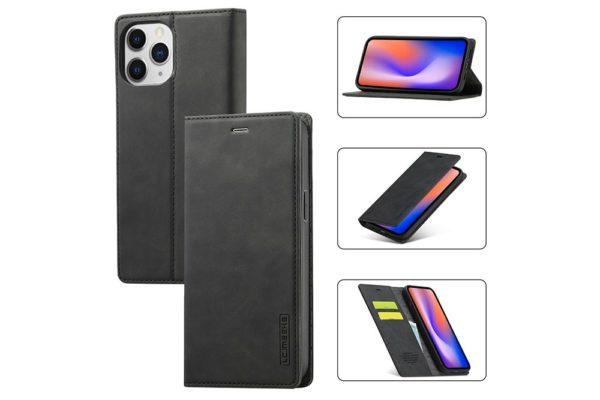 iPhone-schlankes-Leder-Etui-Case-Kreditkartenslot-Magnetverschluss-2