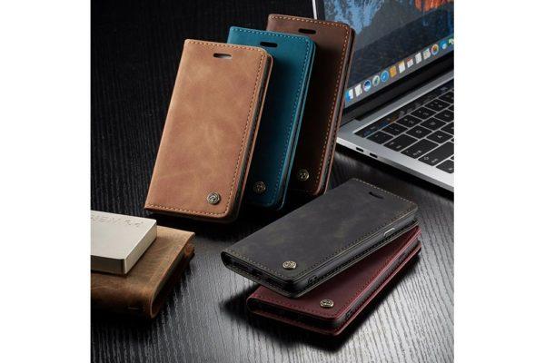 iPhone-schlankes-Leder-Etui-Case-Kreditkartenslot-Magnetverschluss-6