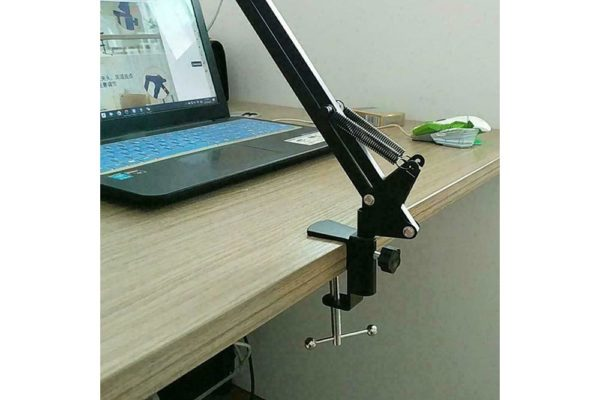 Tisch-Klemm-Ständer-Halter-Halterung-iPad-Tablet-Flexibler-Arm-Schwarz-5