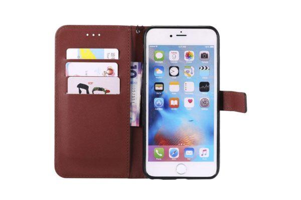 Flip-Etui-Hülle-iPhone-Braun-2