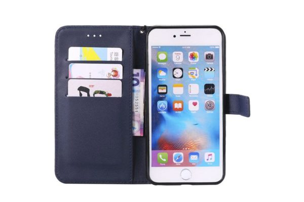 Flip-Etui-Hülle-iPhone-Dunkelblau-2