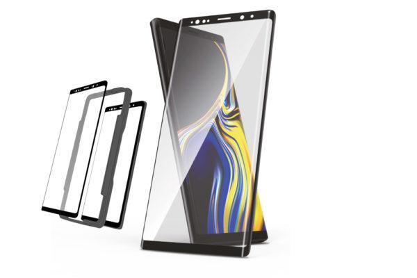 Samsung-Huawei-Panzerglas-mit Montagehilfe
