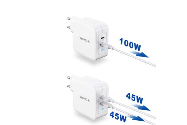 100W-DUAL-USB-C-Power-Delivery-PD-Ladegeraet-GaN