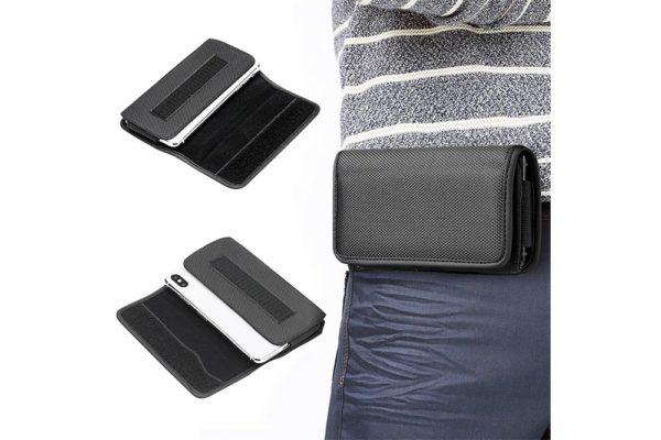 iPhone-Samsung-Gürtelholster-tasche-horizontal-schwarz-5