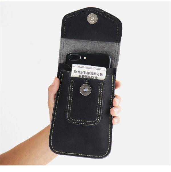 iPhone-Samsung-Gürtelholster-tasche-vertikal-schwarz-4