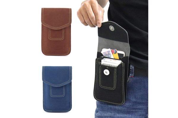 iPhone-Samsung-Gürtelholster-tasche-vertikal-schwarz